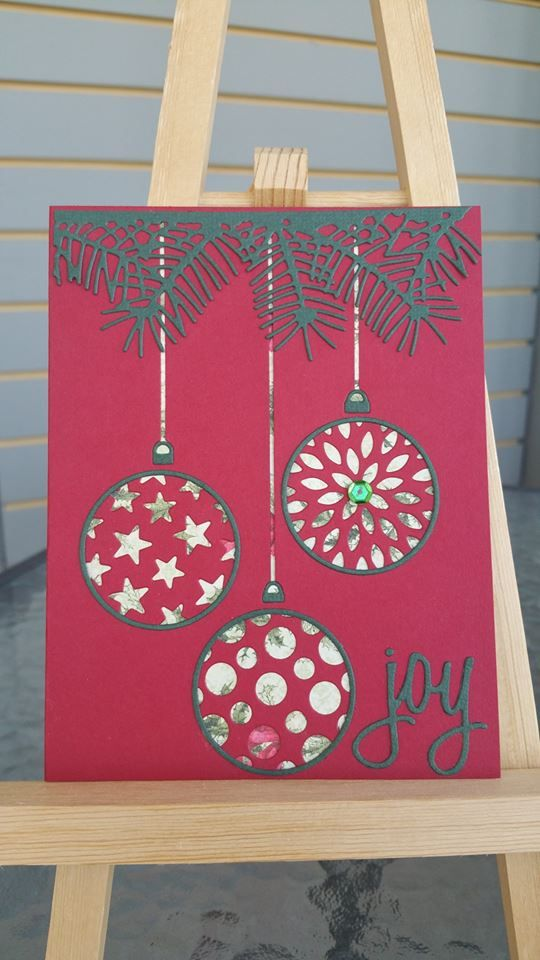 218 best Christmas Ornament Cards images on Pinterest | Christmas ...