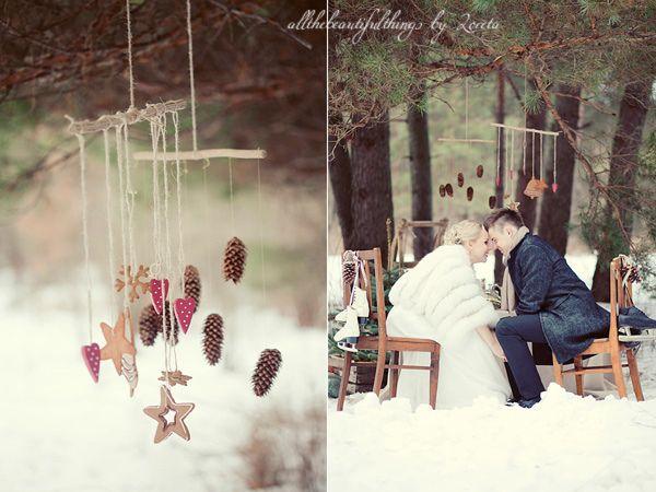 Vintage Winter Wedding by loretoidas, via Flickr