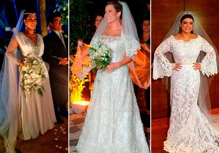 Randy Fenoli avalia vestidos de noiva das famosas brasileiras, assista!