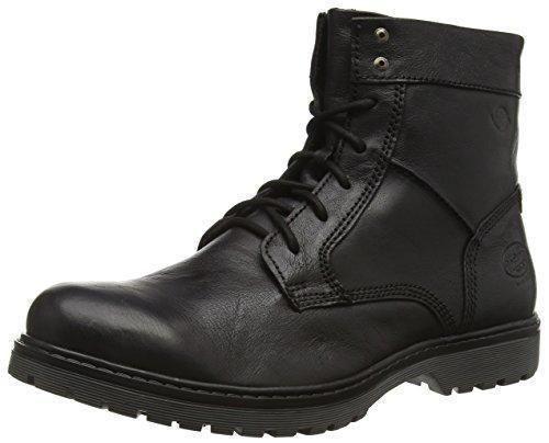Oferta: 79.9€. Comprar Ofertas de Dockers 37NS001 - botas de combate de cuero hombre, color negro, talla 44 barato. ¡Mira las ofertas!