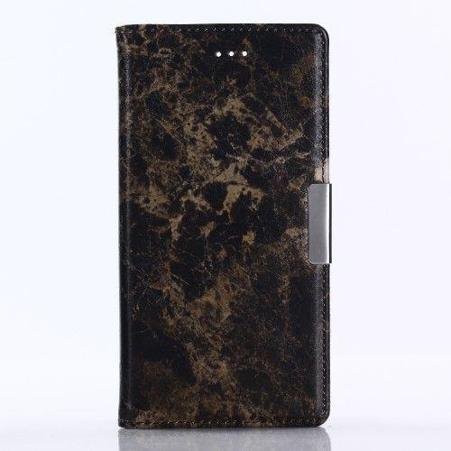 Housse Sony Xperia XZ1 Marbre - Noir