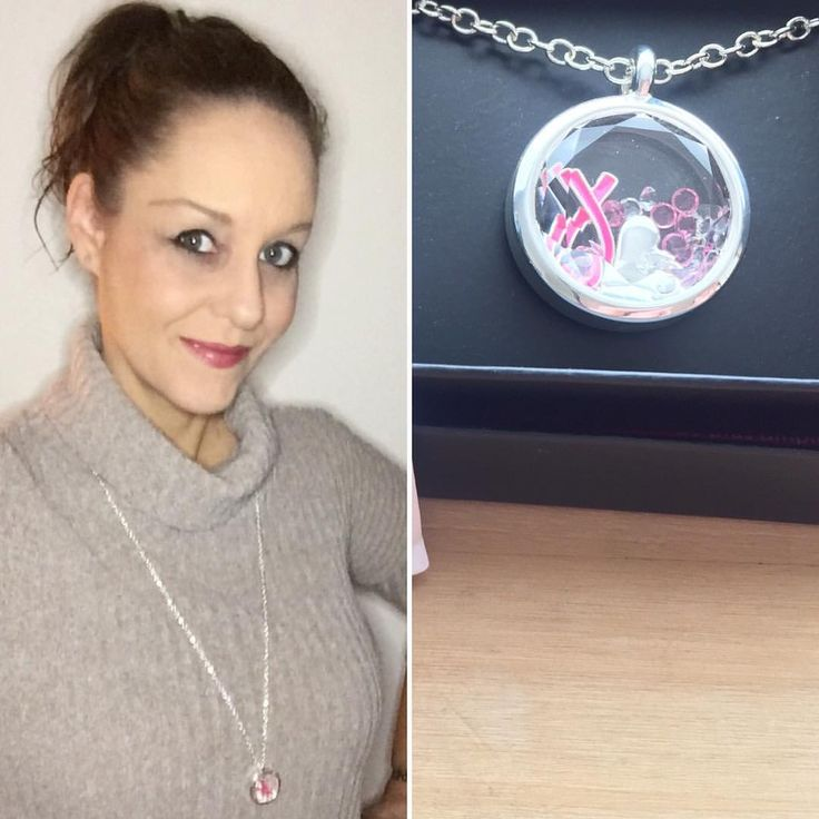 """16 Likes, 3 Comments - Heather Carr (@hethrgood) on Instagram: """"I'm wearing Avon's Breast Cancer Crusade Shaky Necklace today! #AvonJewelry #Avon #Jewelry…"""""""