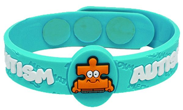 If your child has Autism, then the AllerMates autism bracelet can help bring awareness in a charming way. Fits most kids from the age of 3 years old and up. AllerMates has created a fun, engaging plac