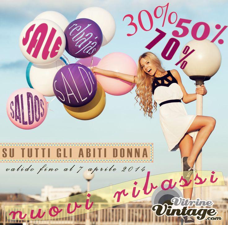 new #sale #rebajas #saldos #saldi on VitrineVintage! ..all woman's dresses!  http://www.vitrinevintage.com/list-product.php?type_p=a&cat=2&sub=28