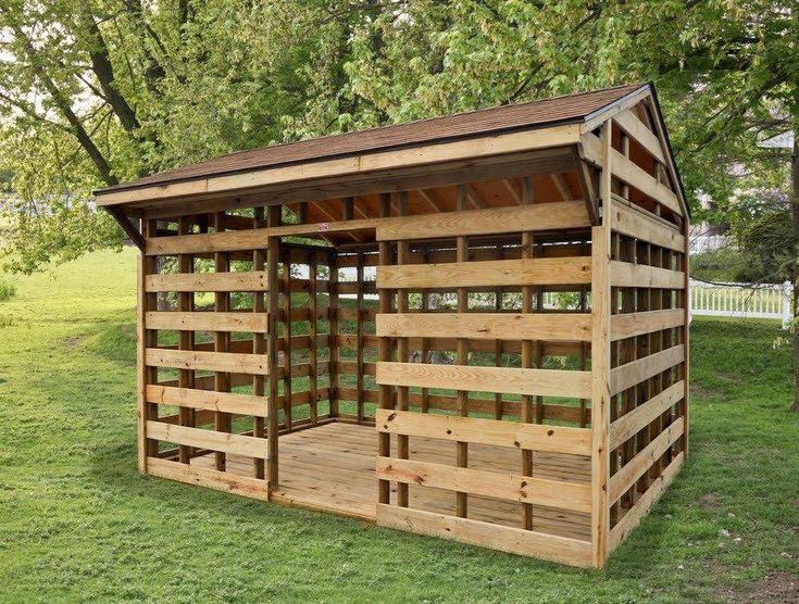 wood sheds | Inventory > Wooden Storage Barns / Sheds > Firewood Sheds Wooden