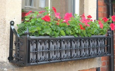 Victorian Window Boxes: My Window Box - We specialise in window boxes, manufacturing beautiful window boxes with traditional and contemporary designs out of cast aluminium, steel and fibreglass.