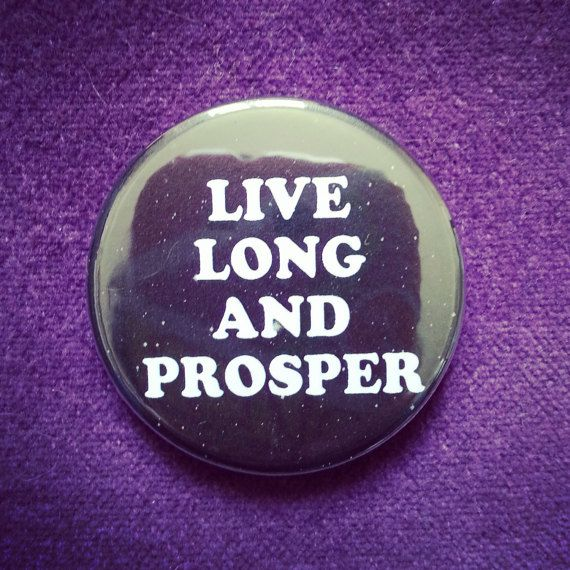 badge star trek par MelleNora sur Etsy #startrek #spock #badge #pins #etsy