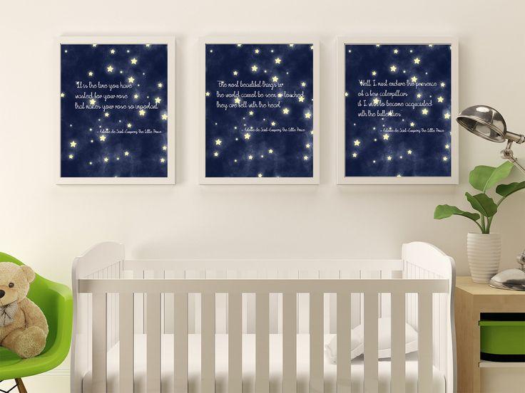Printable Wall Art - Le Petit Prince - The Little Prince - Nursery Decor