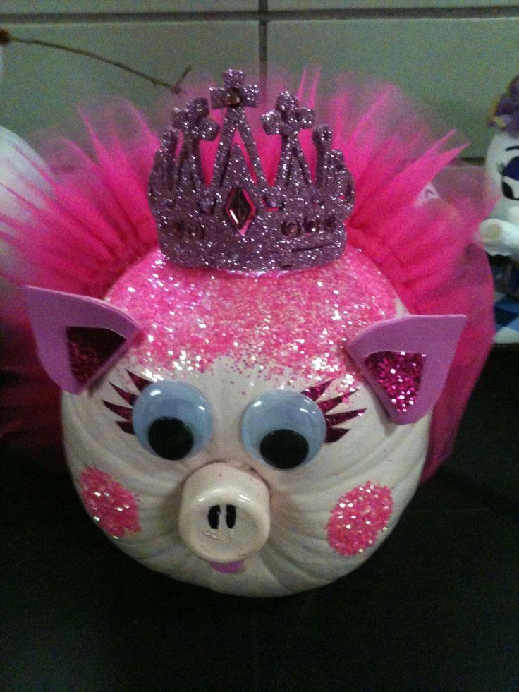 princess pig pumpkin decorating cute pumpkin pumpkins for kids pumpkin