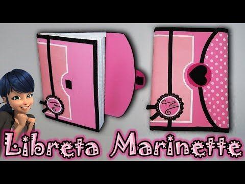 ♥ Tutorial: Libreta/Cuaderno o Agenda de Marinette || Miraculous Ladybug ♥ - YouTube