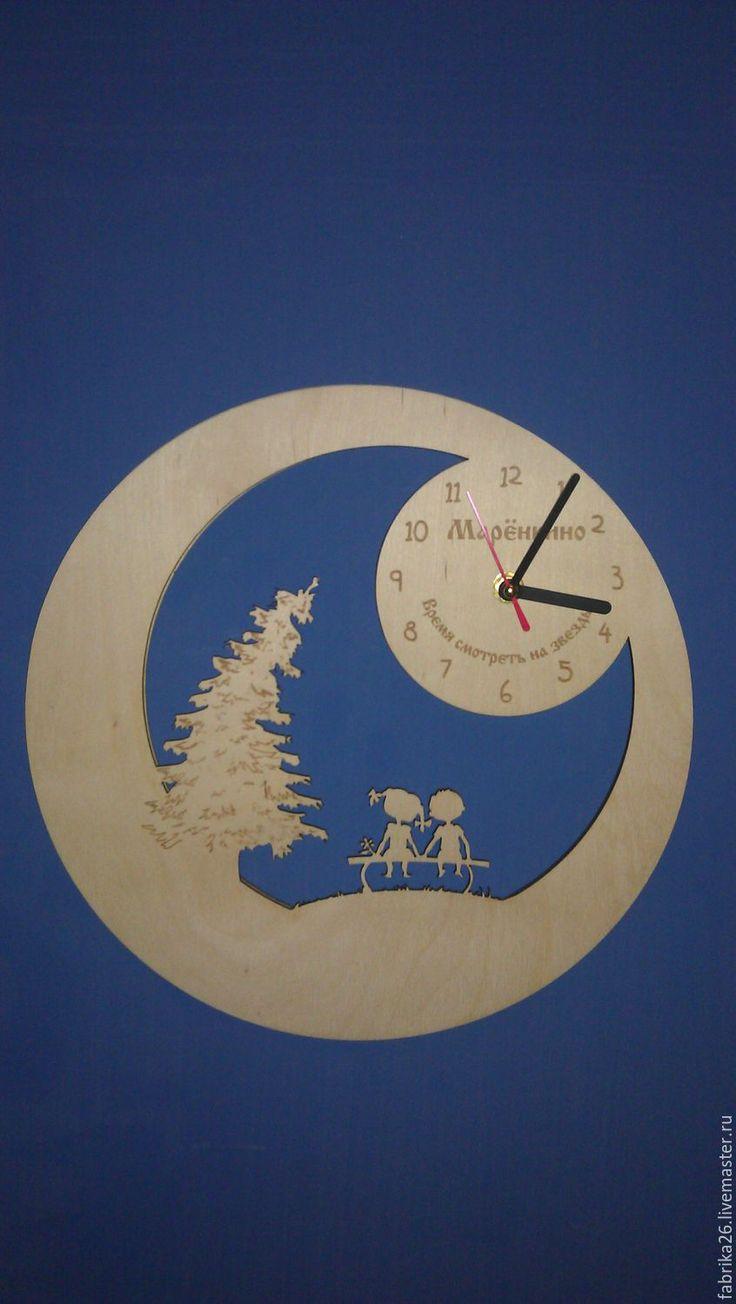 часы мальчик и девочка - Фабрика 26 - Ярмарка Мастеров