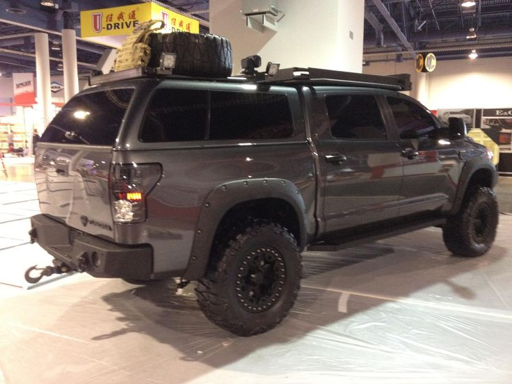 Toyota Tundra Crewmax Camper Shell Autos Post