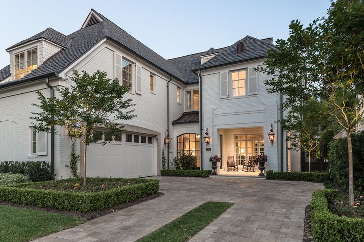 10 best ideas about white brick houses on pinterest for Brick house with tin roof