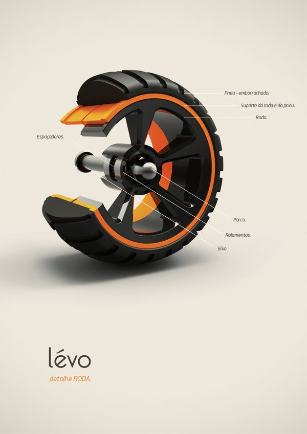 Lévo is a personal multi-use cart that aims to make shopping of all sorts a cinch. Simply fill up each interchangeable basket and reattach to the