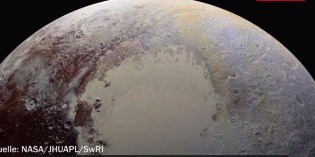 Schärfste Aufnahmen aller Zeiten: Nasa veröffentlicht spektakuläre Pluto-Bilder