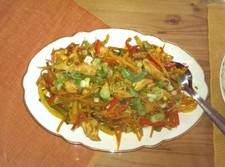 #Rezept: Chinapfanne aus dem Wok