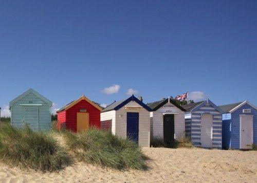 Beach Huts , Southwold , England