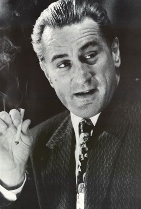 """You learned the two greatest thing in life: never rat on your friends, and always keep your mouth shut."" (Goodfellas)"