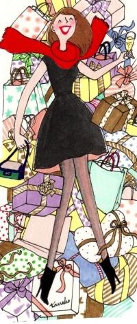J'aime trop les cadeaux !!! Qu'est ce que les filles sont superficielles et matérialistes...j'en suis un bon exemple ^^