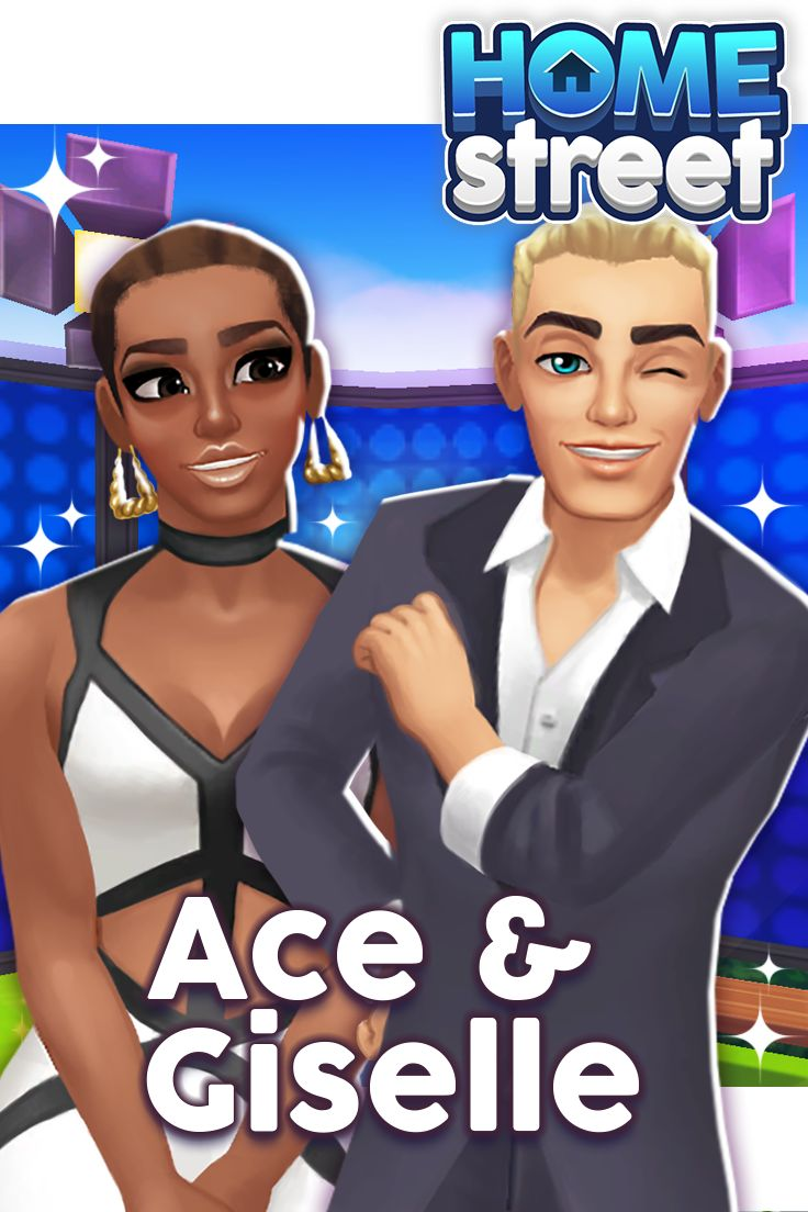 Meet Ace & Giselle! I'm Ace and this is my co-host, Giselle! We always look a challenge in the eye and give it a wink...our secret: KEEP GOING! You can play our Game Show Challenge soon for a chance to be FAMOUS in Home Street!