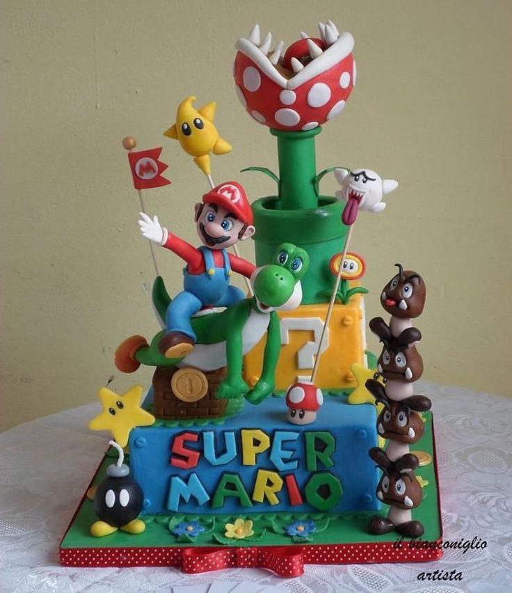 Supermario's cake - Cake by ilbianconiglio15