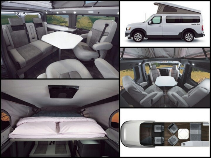 Roadtrek Rv Conversion Of The Nissan Nv2500 Credit