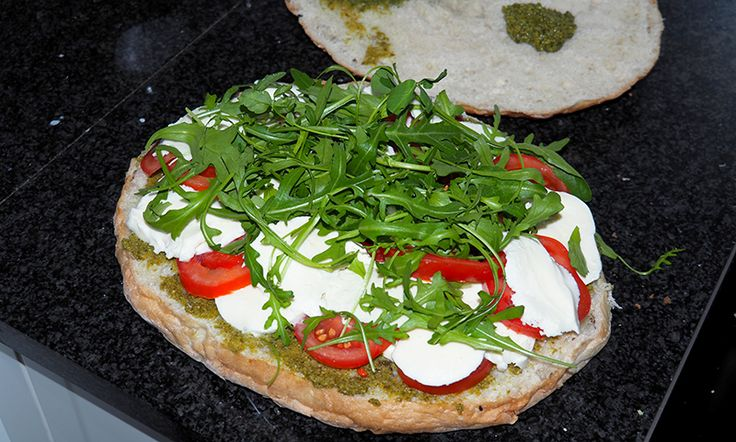 Food recept; gevuld Turks brood