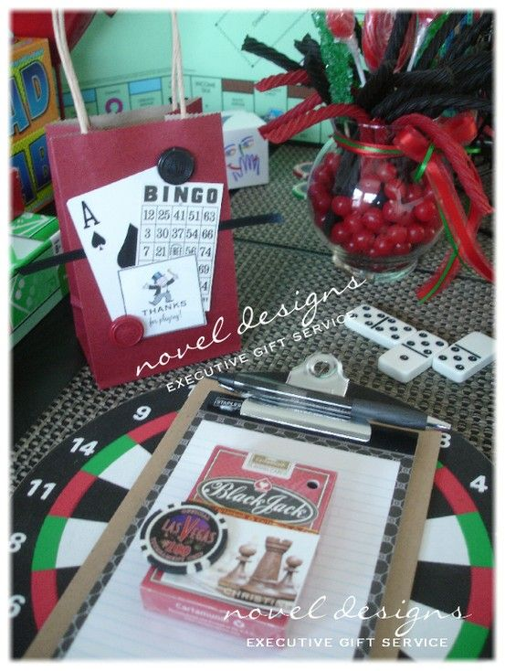 Las Vegas Wedding Gift Bag Ideas : ... Ideas on Pinterest Las vegas weddings, Themed parties and Poker