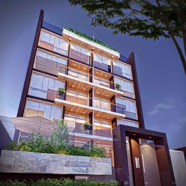 17 mejores ideas sobre fachadas de edificios modernos en for Fachadas edificios modernos