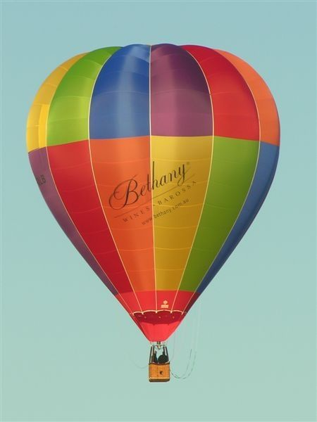 Bethany Wines' hot-air balloon. Who's keen for a ride?!