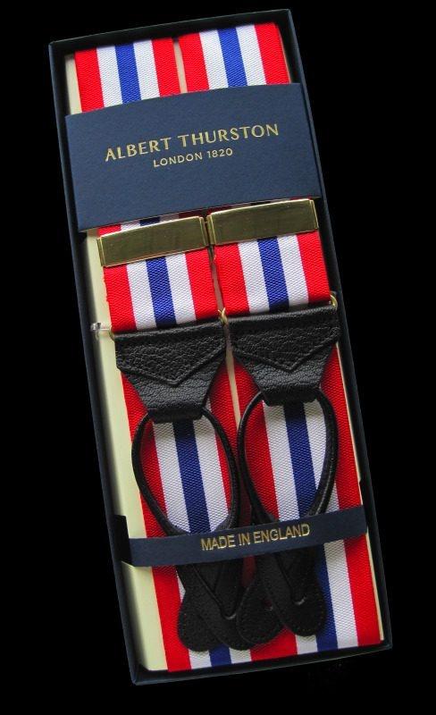 Jubilee Albert Thurston Striped Braces #diamondjubilee