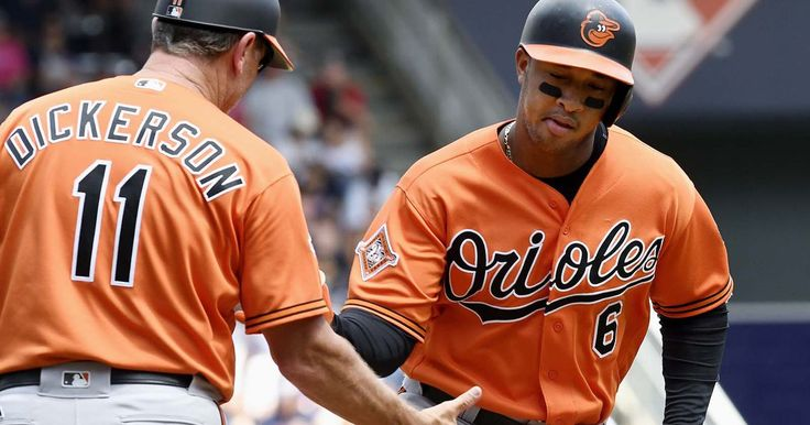 MINNEAPOLIS — Jonathan Schoop and Mark Trumbo each homered for Baltimore, Wade Miley produced his best start in more than five weeks and the Orioles beat the Minnesota Twins 5-1 on Saturday to stop a five-game losing streak.  Manny Machado added an RBI double to help the Orioles beat the...