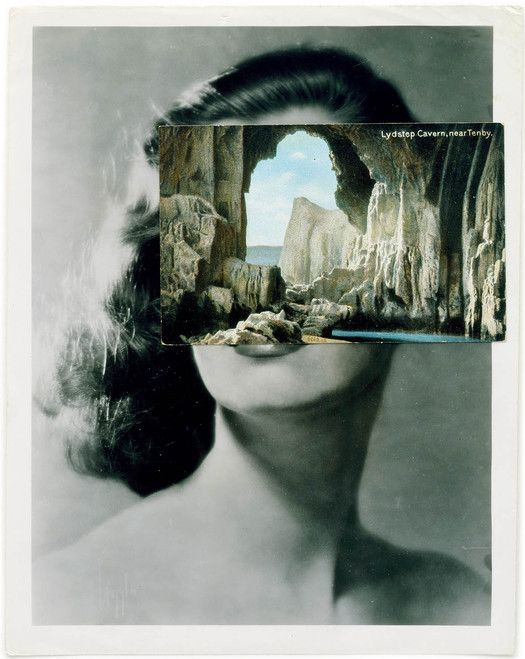 Mask XXXV, collage, 2007 – John Stezaker's collages: maximum resonance with limited means: Observatory: Design Observer