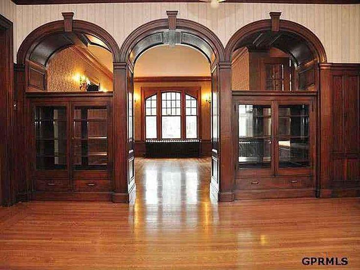 Nice arts & crafts archways