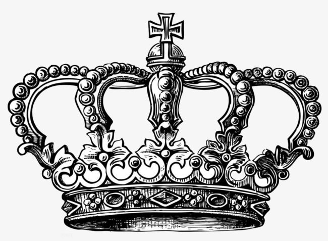 Black And White Crown England Style Black And White Sketch Imperial Family Png Image Crown Tattoo Design Crown Tattoo Crown Drawing