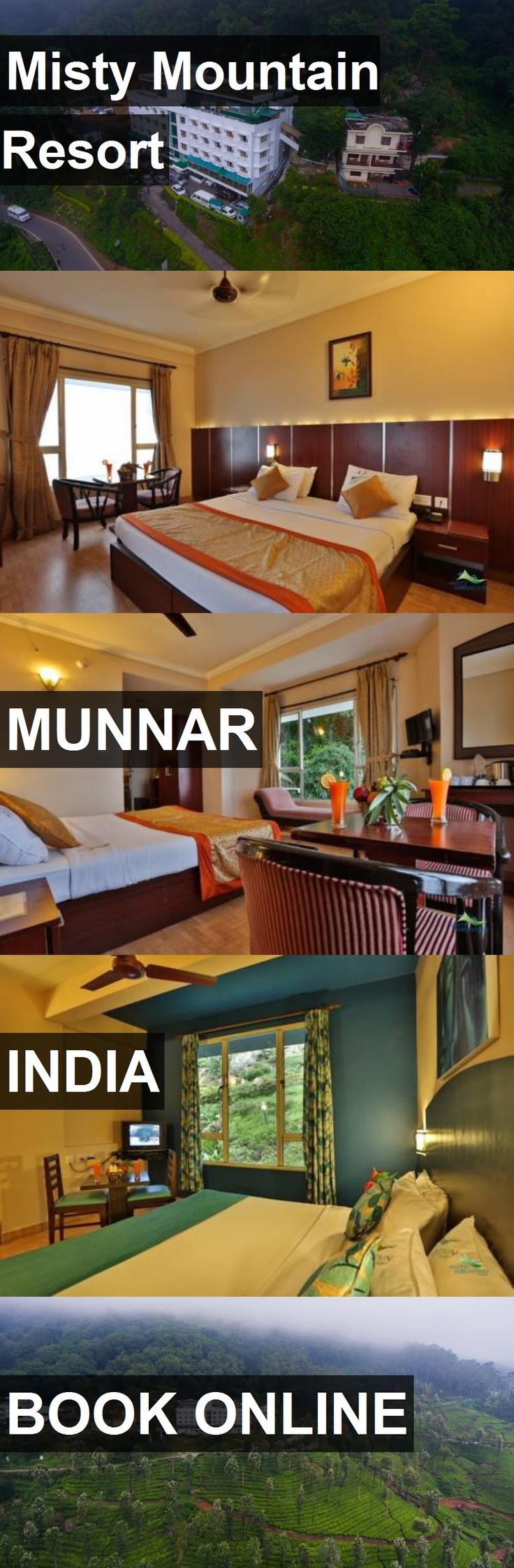 Hotel Misty Mountain Resort in Munnar, India. For more information, photos, reviews and best prices please follow the link. #India #Munnar #hotel #travel #vacation