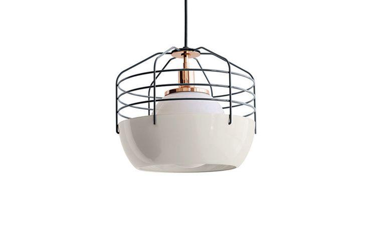 Lampa ATLANTEX 350 Biało-Czarna