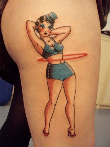 Another hula hoop tattoo
