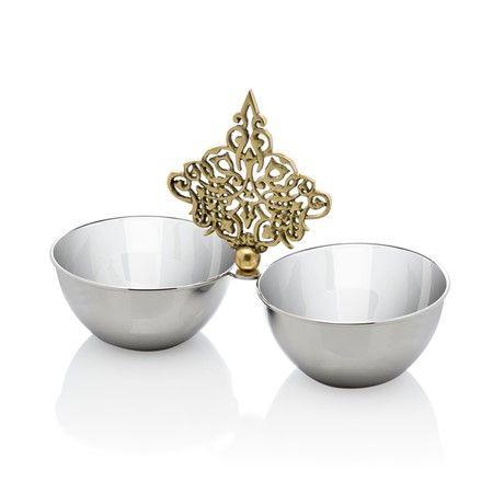 Bernardo İkili Çerezlik / 2-Pieces Appetizers #homedecor #tabledesign #teatime #ottoman #osmanli #ancient