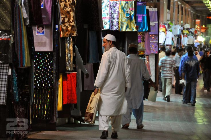 Fabric at the Old Souq photo | 23 Photos Of Dubai