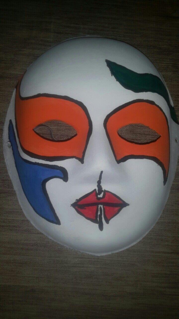 Maske Boyama Maskeler