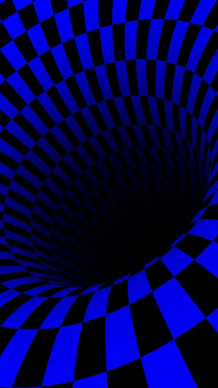 Blue Tunnel Blue Art Blue Wallpapers Blue Aesthetic