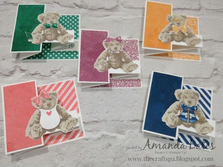 New In Color Baby Bears all dressed up..