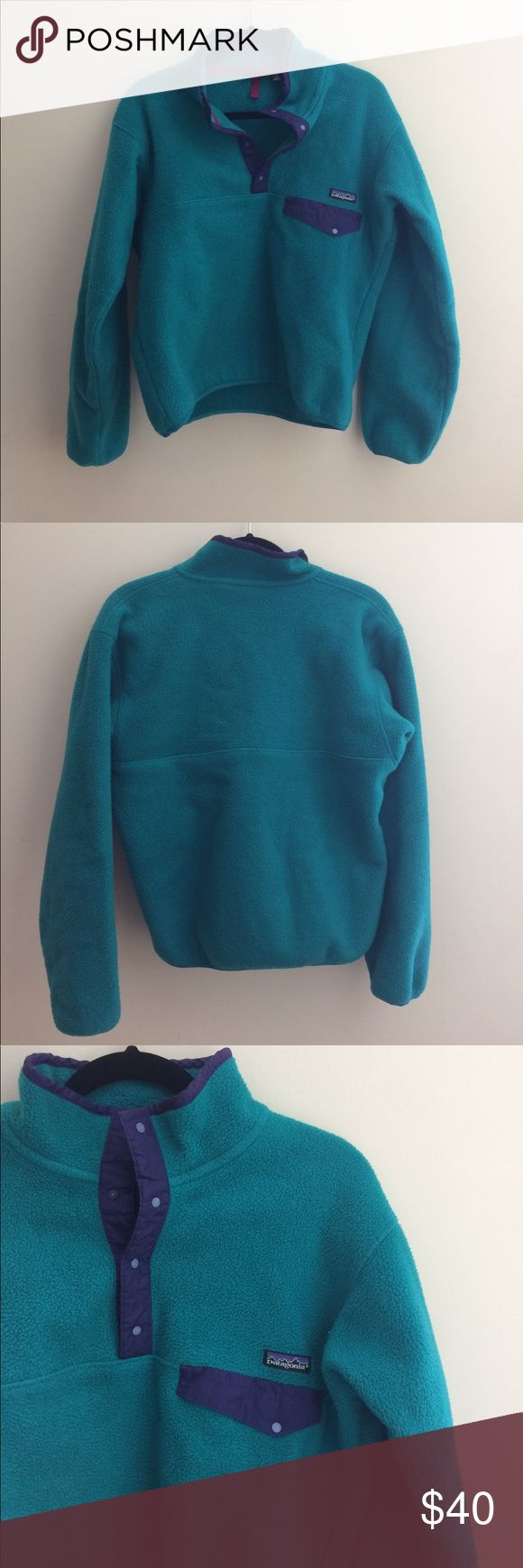 Patagonia pullover Good condition, keeps you warm, no stains or rips. Smoke free home. Patagonia Jackets & Coats