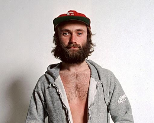 Hey Hipsters, Phil Collins looked like you dipshits before you were born.