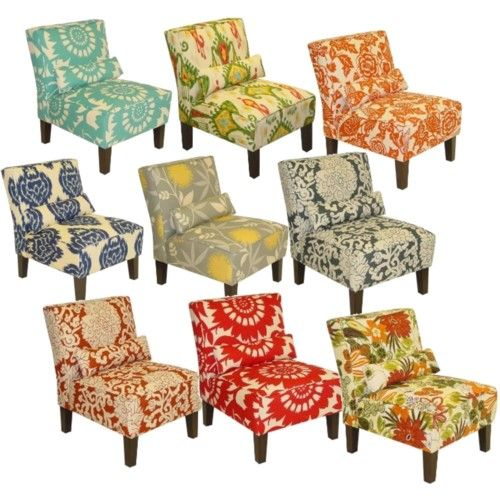 Target Slipper chairs - perfect for bedroom or living room and budget friendly!!!