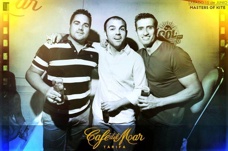 MASTERS OF KITEBOARD en Café del Mar Tarifa junio 2013