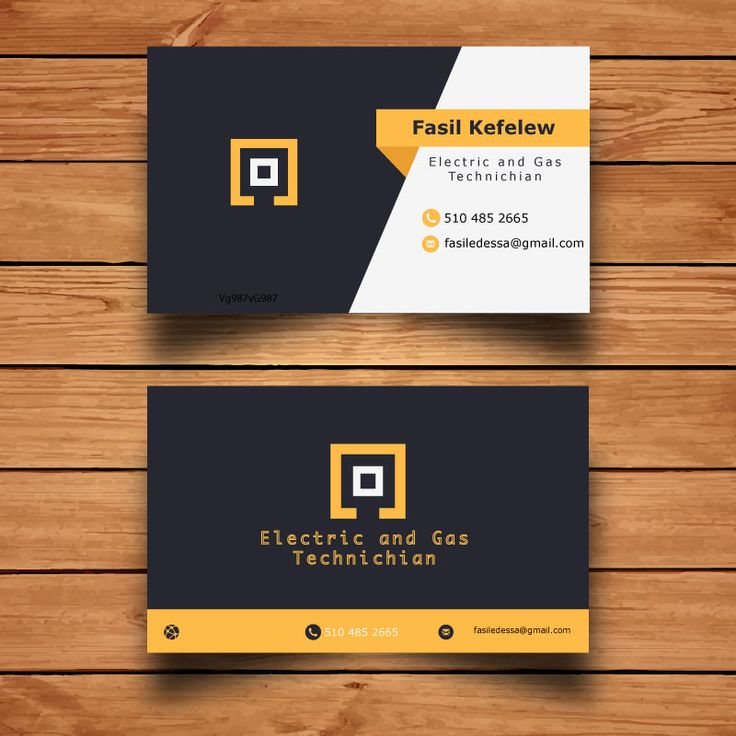 35 best Business Card design images on Pinterest Name cards - business card sample