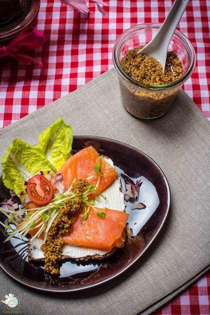 veganer Senfkaviar - eingelegte Senfkörner