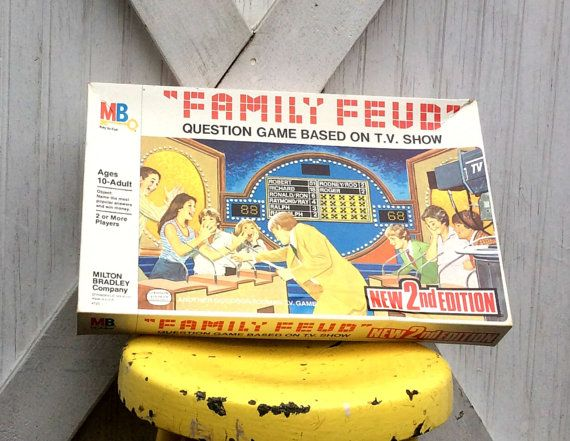 Check out this item in my Etsy shop https://www.etsy.com/listing/288405225/vintage-1978-family-feud-2nd-edition
